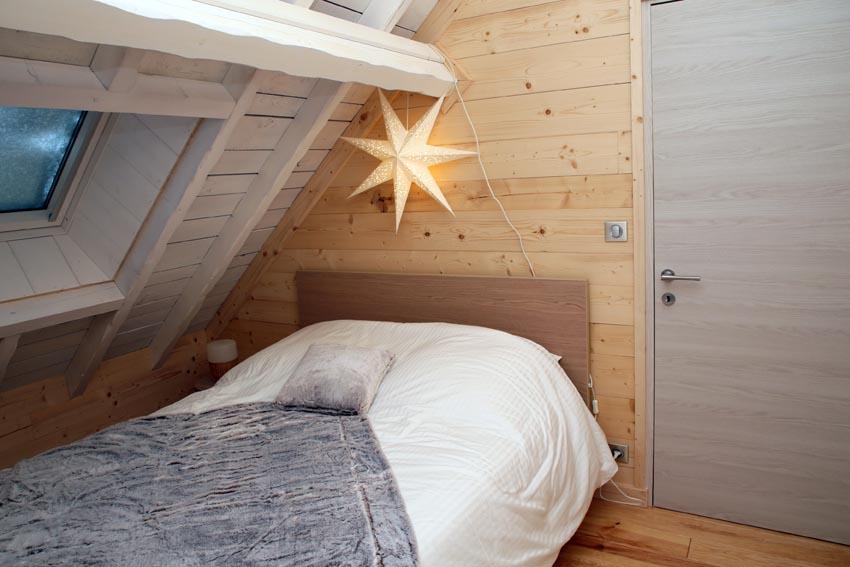 Chambres Double avec balcon Bienveillance - Chalet de Jade