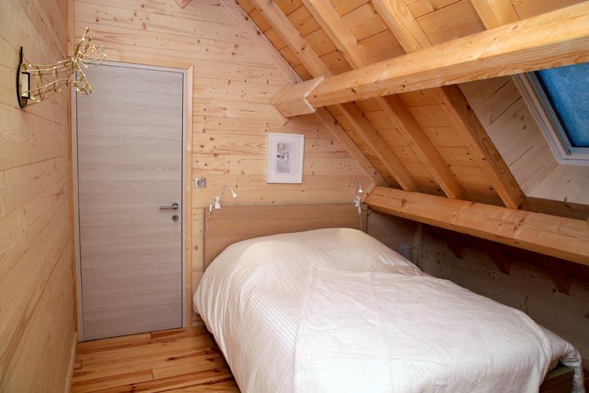 Chambre Double avec balcon Gratitude - Chalet de Jade